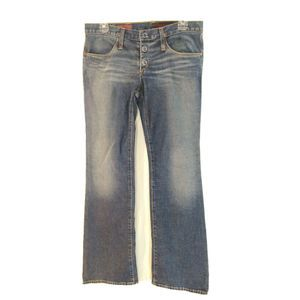 AG Adriano Goldschmied jeans 28 Cupid  button
